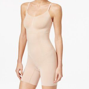 New Spanx Women's OnCore Mid-Thigh Bodysuit 1XL